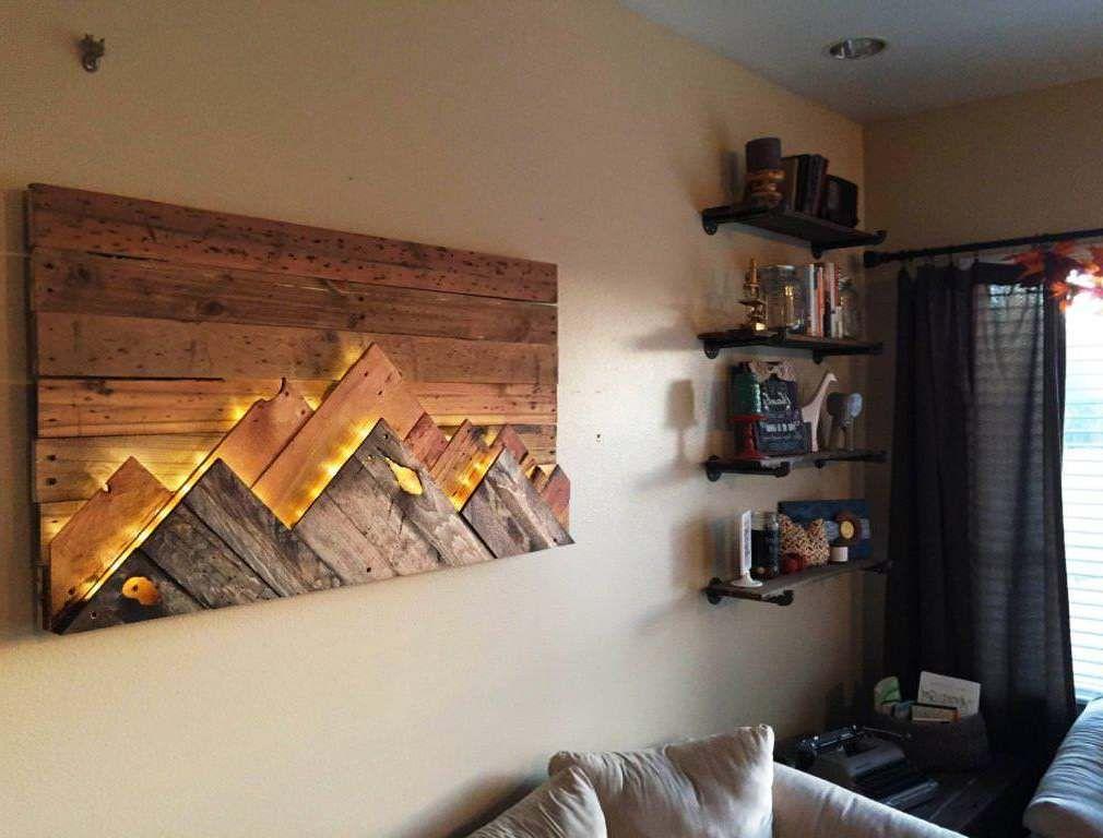 Wooden Wall Art Decor Ideas Wooden Wall Art Decor Wood Pallet