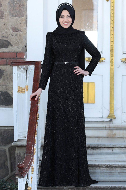 3ee16dfb00ba0 Al-Marah Milen Abiye Elbise Modelleri - Moda Tesettür Giyim ...