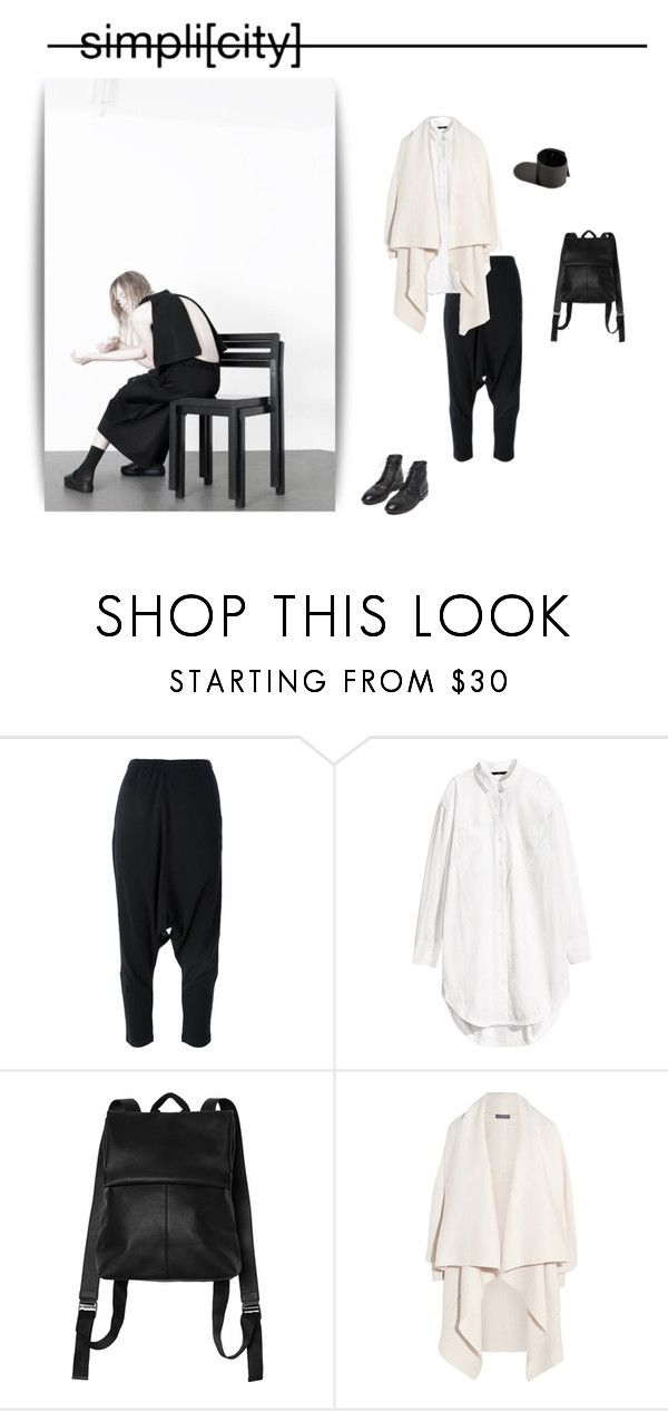 """""""Simplicity"""" by aumorfia ❤ liked on Polyvore featuring Y-3, H&M, Monki, Alexander McQueen, Marsèll, AlexanderMcQueen, paige, Marsell and Aumorfia"""
