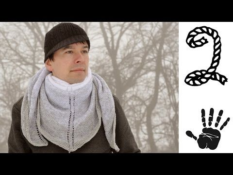 St. Moritz Tuch Strickanleitung Part 2 - © Woolpedia - YouTube