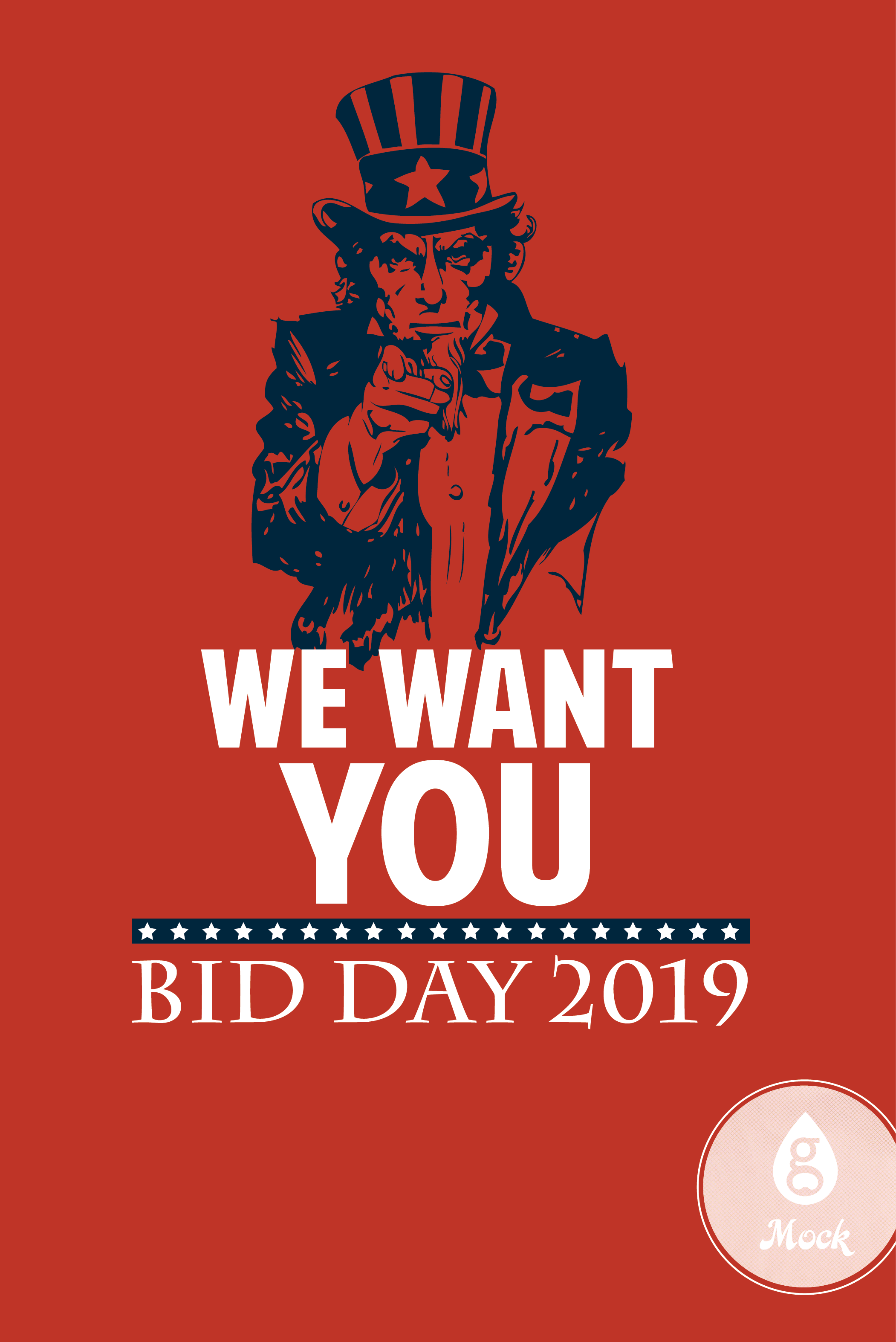 Uncle Sam America Bid Day We Want You Bid Day Geneologie Day