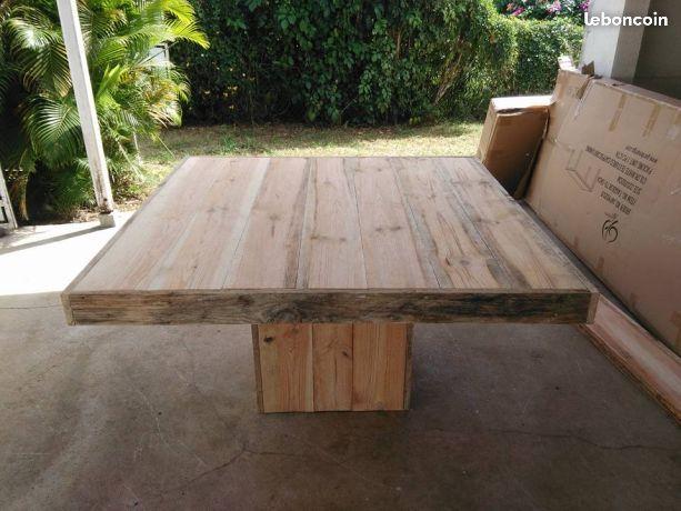 Table En Planche De Coffrage Mobilier De Salon Planche De