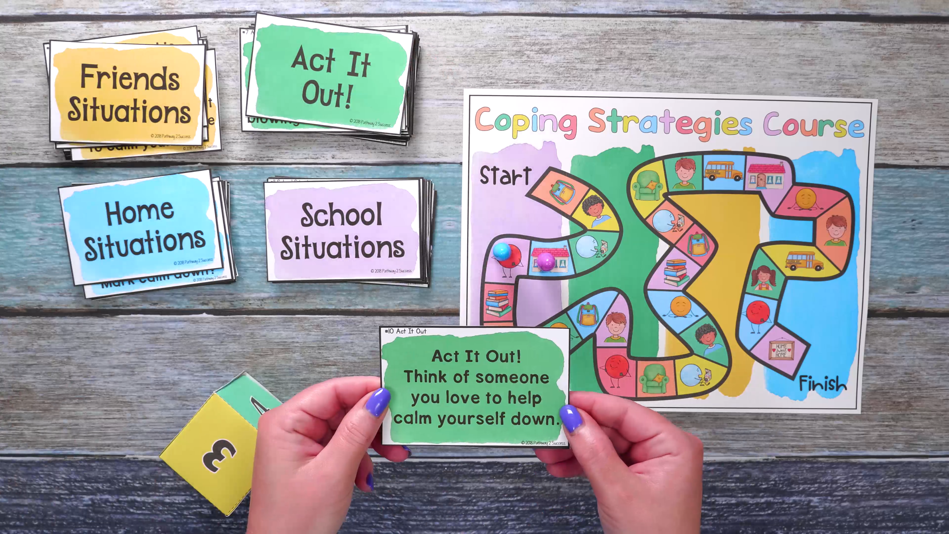 Use This Coping Strategies Board Game To Teach Kids Critical Skills To Manage Their Video Social Emotional Learning Lessons Coping Strategies Teaching Social Skills