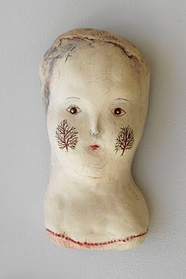 """Bonnie Marie Smith:   """"little doll  grew underground  her eyes to see  what there was found  the dark  the seeds  the roots  grew leaves  and tiny trees  graced both her cheeks"""""""