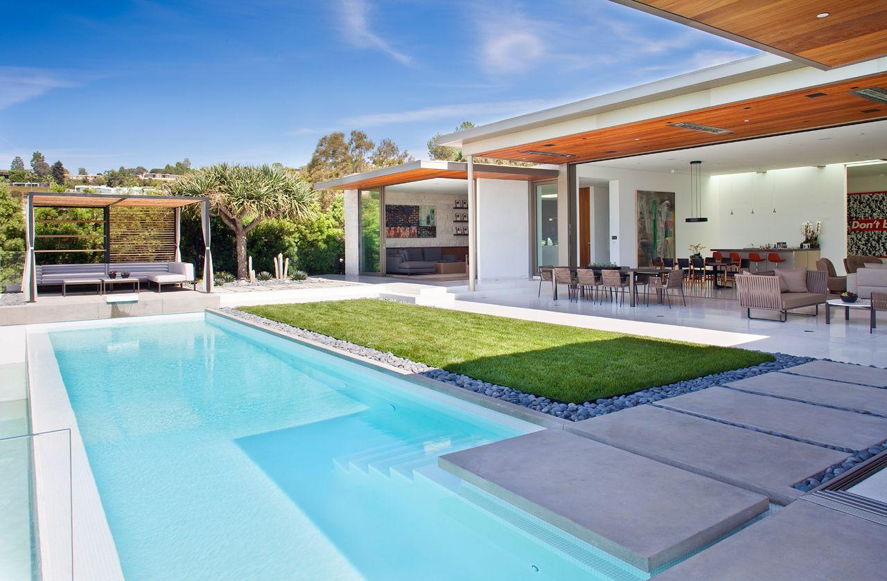 Trousdale House William Hefner 4 Design Milk Architecture Beverly Hills Houses Modern Pools