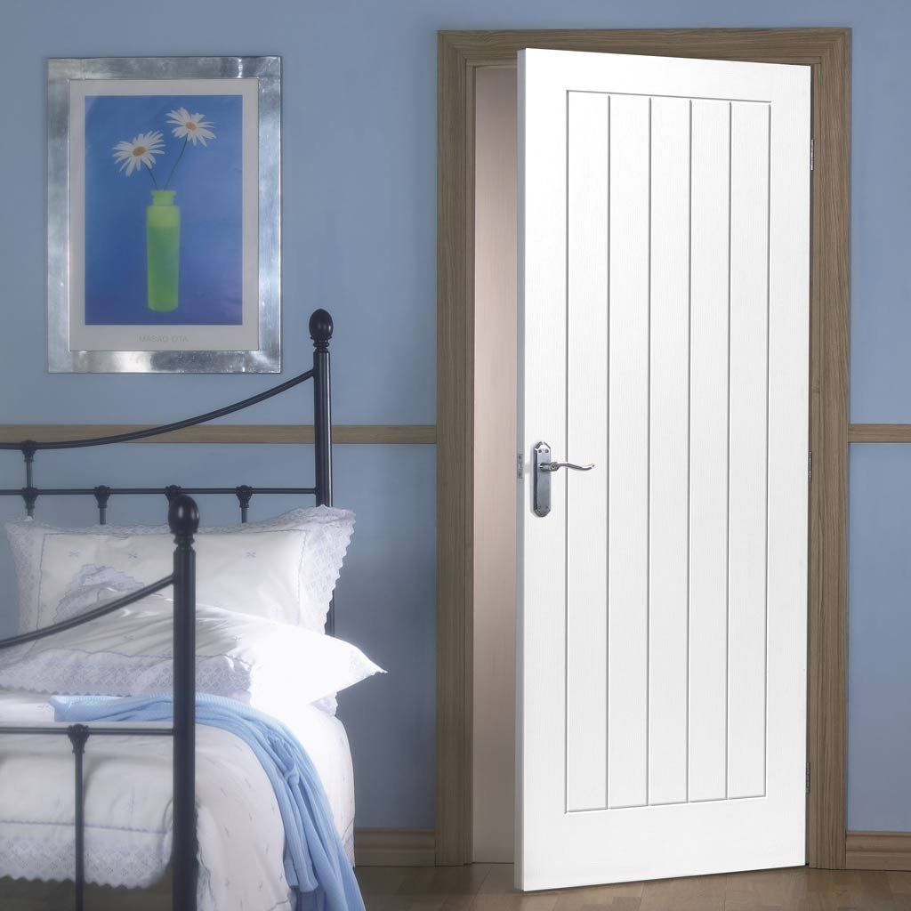 Mexicano Fire Door Vertical Lining 12 Hour Fire Rated White