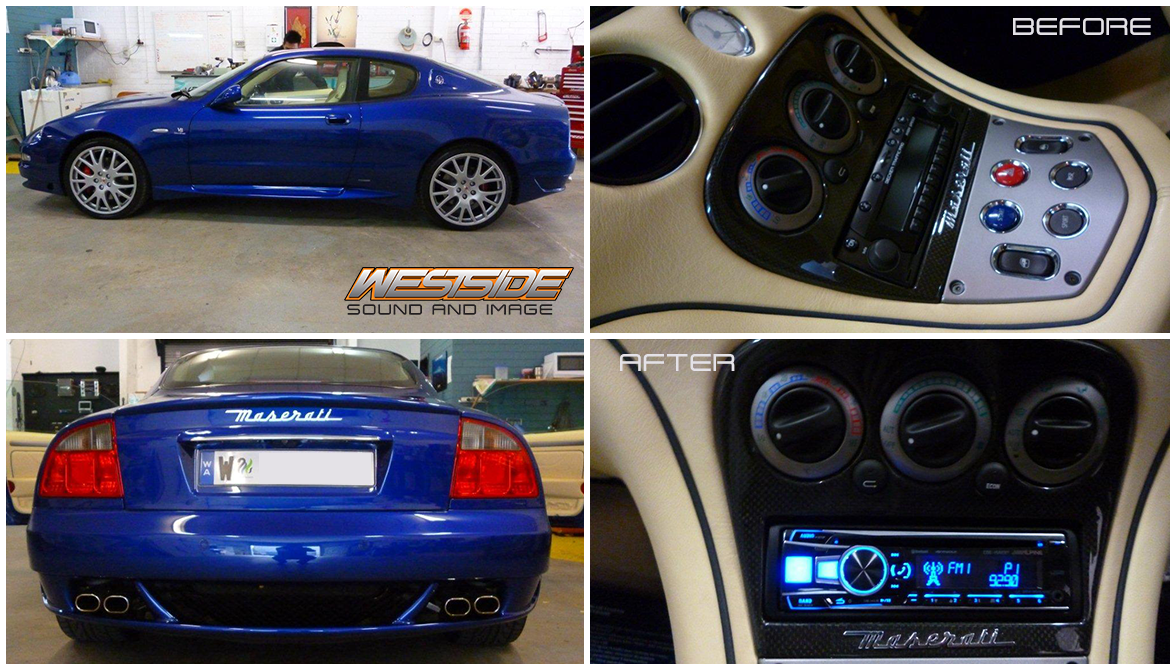 We Had This Gorgeous Maserati Gt Sport In Our Shop Last Week And