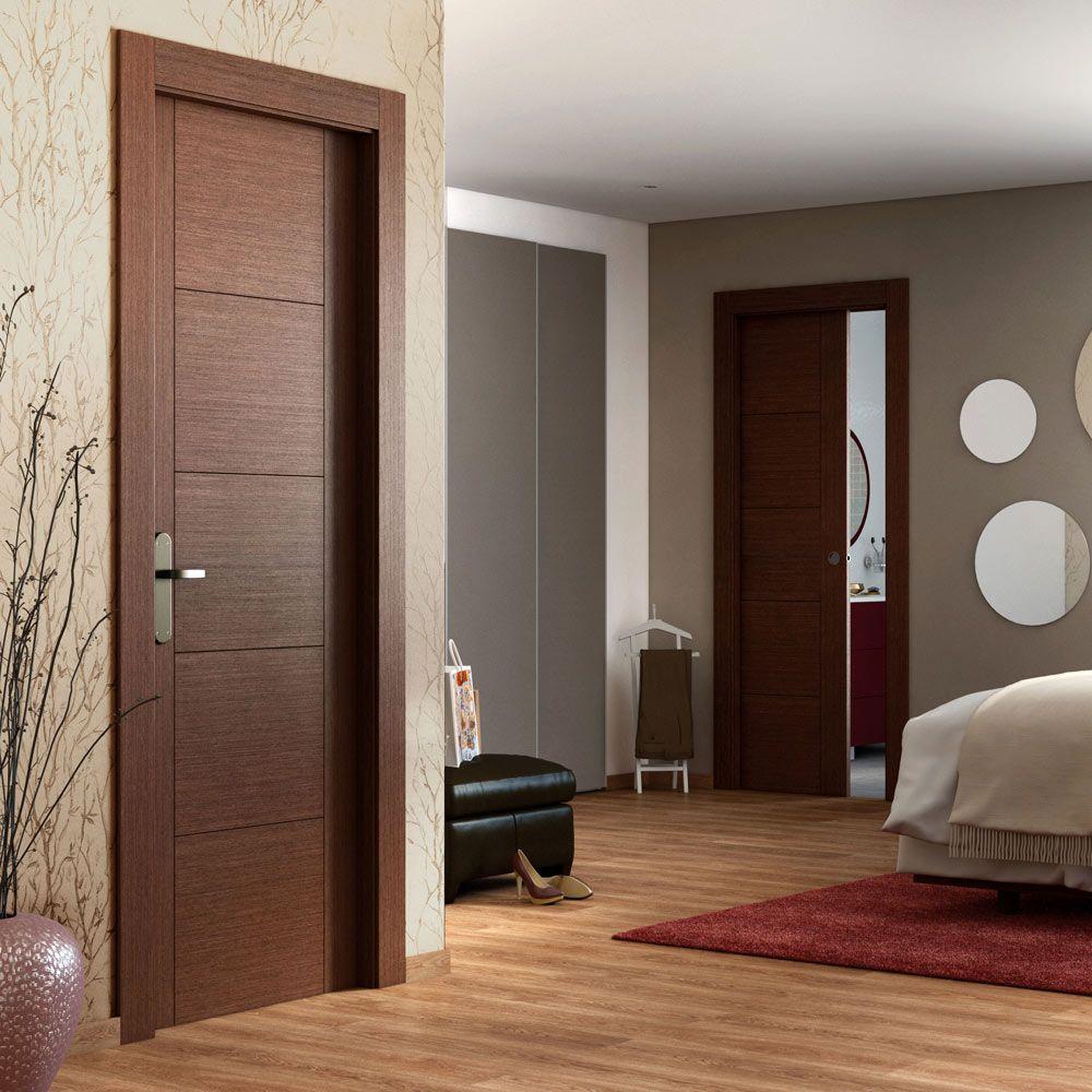 Noruega wengue leroy merlin house en 2019 puertas - Puertas de madera interiores modernas ...