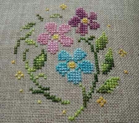 3-kir-cicek-etamin #embroiderypatternsbeginner