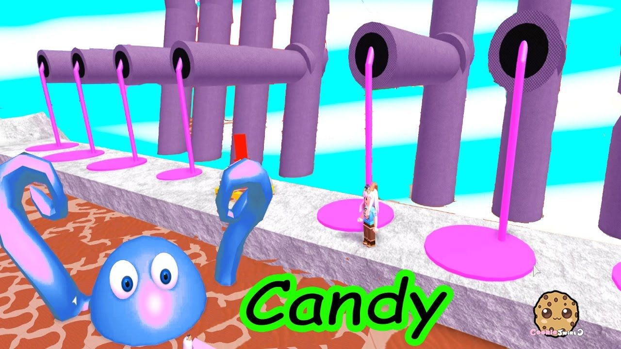Candy Monsters Roblox Video Game Cookieswirlc Let S Play Candy