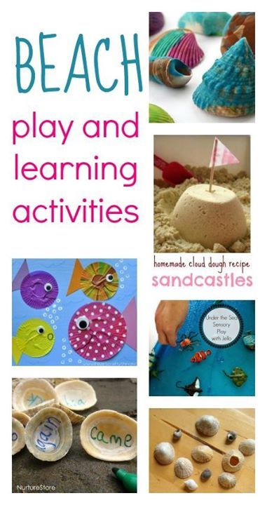 Beach Crafts For Kids Seaside Activities Ocean Theme