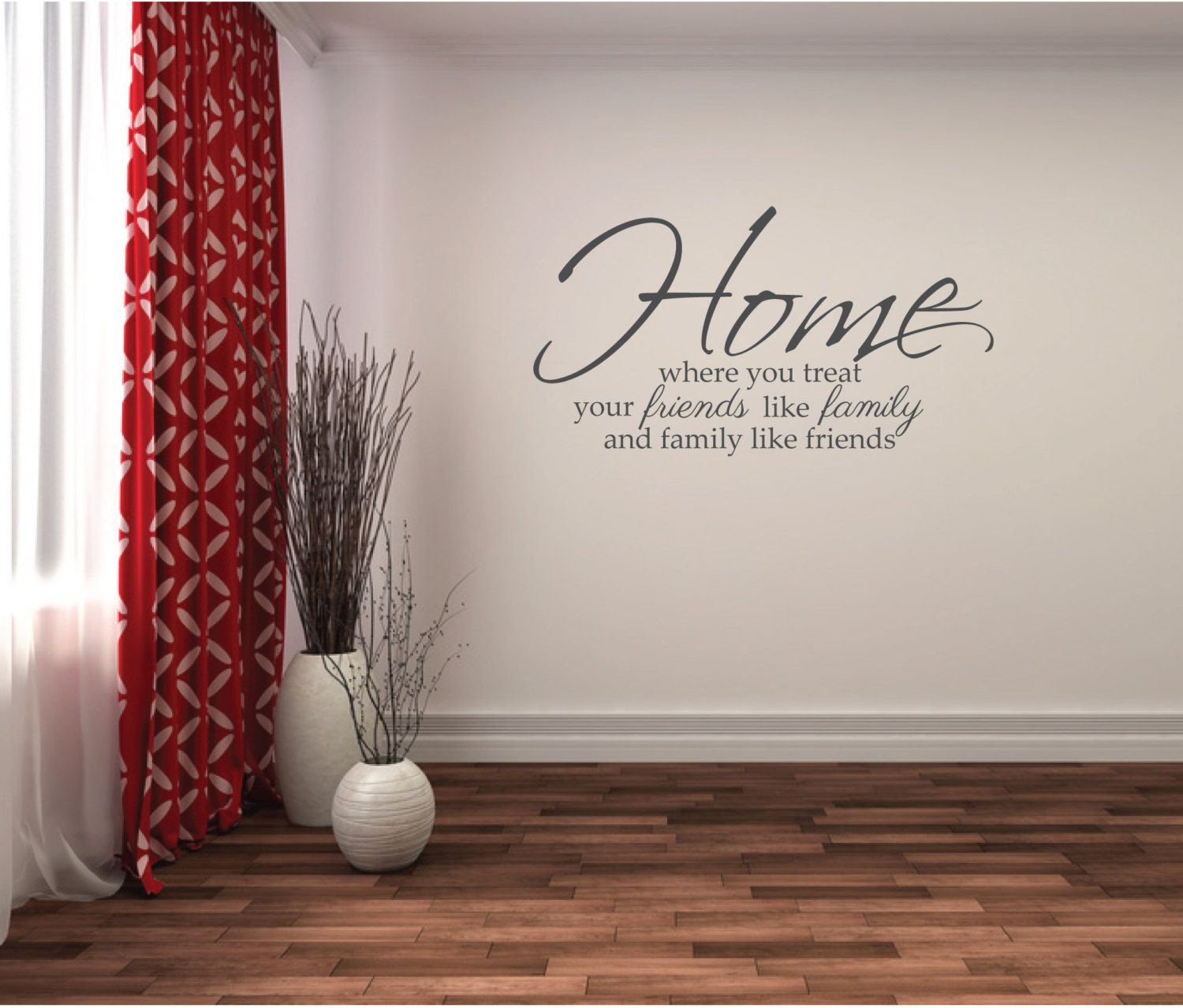 Wall Sticker Family Quote Home Friends Family Wall Decor Words Saying Family Wall Decor Wall Stickers Family Living Room Decals