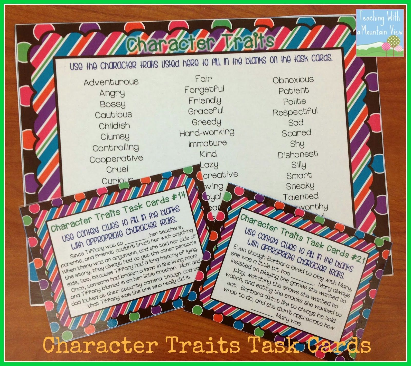 Characters Characters And More Characters And A