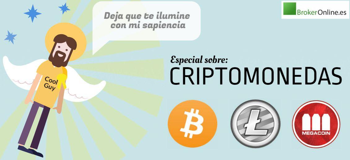 infografía que reza: especial sobre criptomonedas