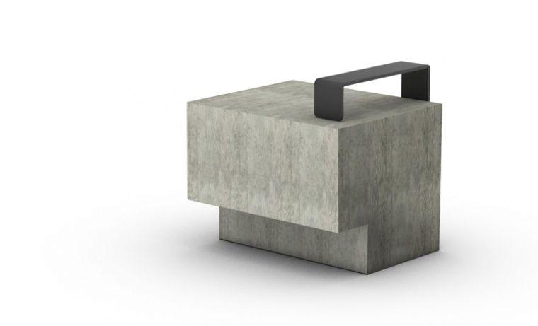 UAP — Cargo Modular Bench concrete