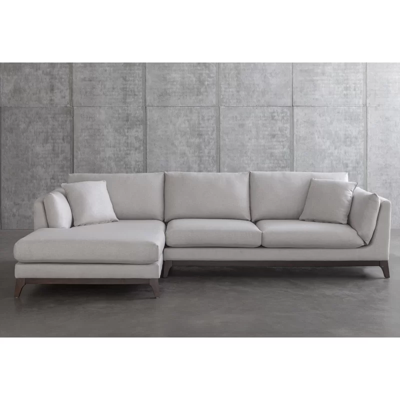 Ana 120 Left Hand Facing Sectional Sectional Sectional Sofa