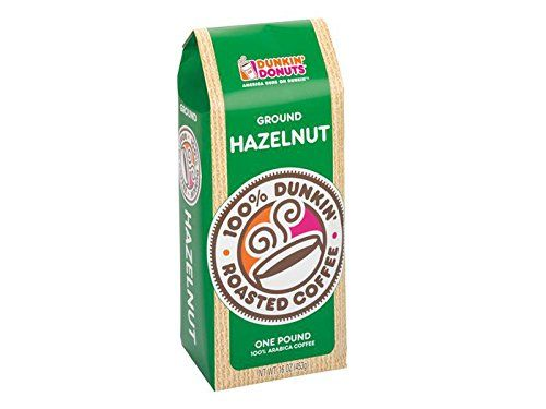 Dunkin Donuts Ground Coffee  Hazelnut 1lb *** Details can be found by clicking on the image.-It is an affiliate link to Amazon.