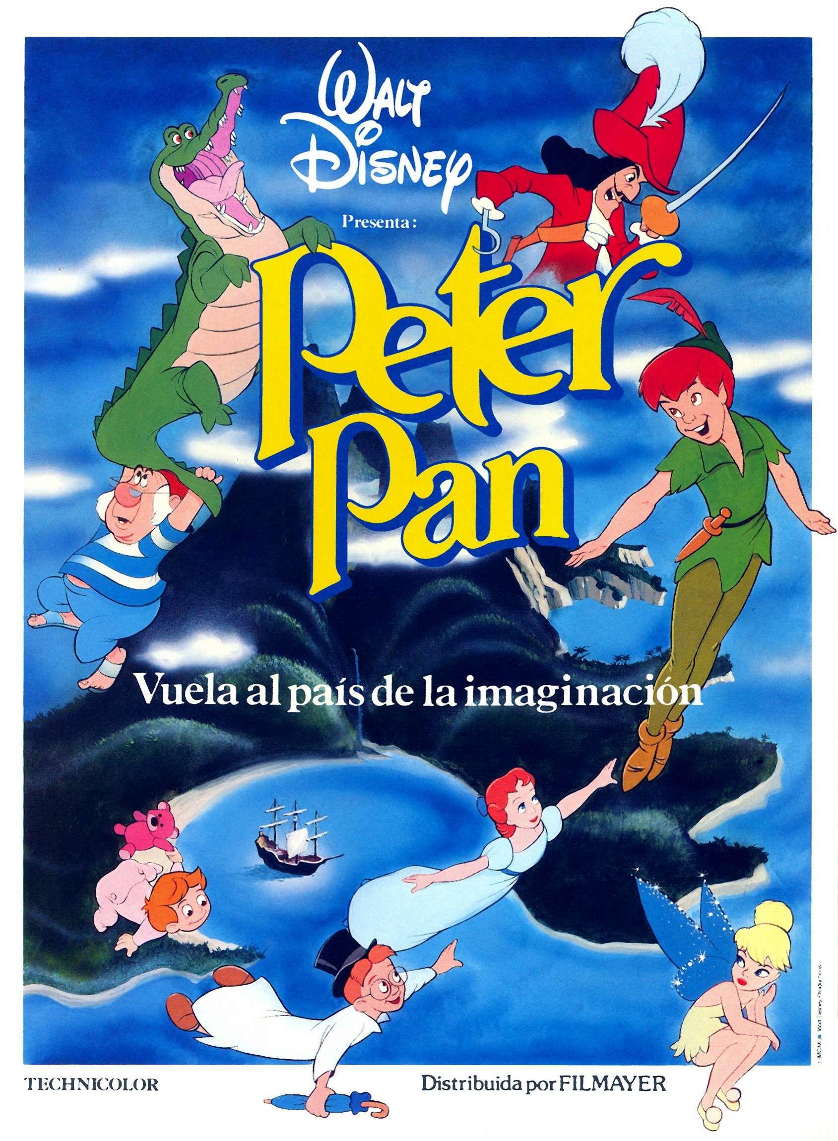 1b5bb3f872fa2 Peter Pan poster   Disney Passion   Disney movie posters, Peter pan ...