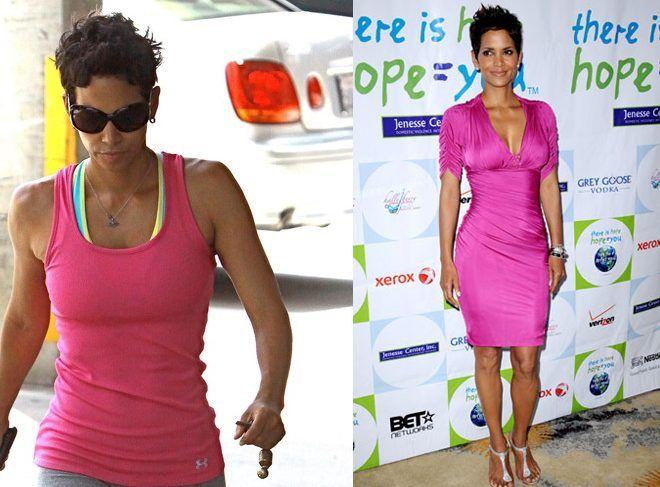 Halle Berry Broad Shoulder Fashion Broad Shoulders Inverted Triangle Body Shape Outfits Dresses For Broad Shoulders