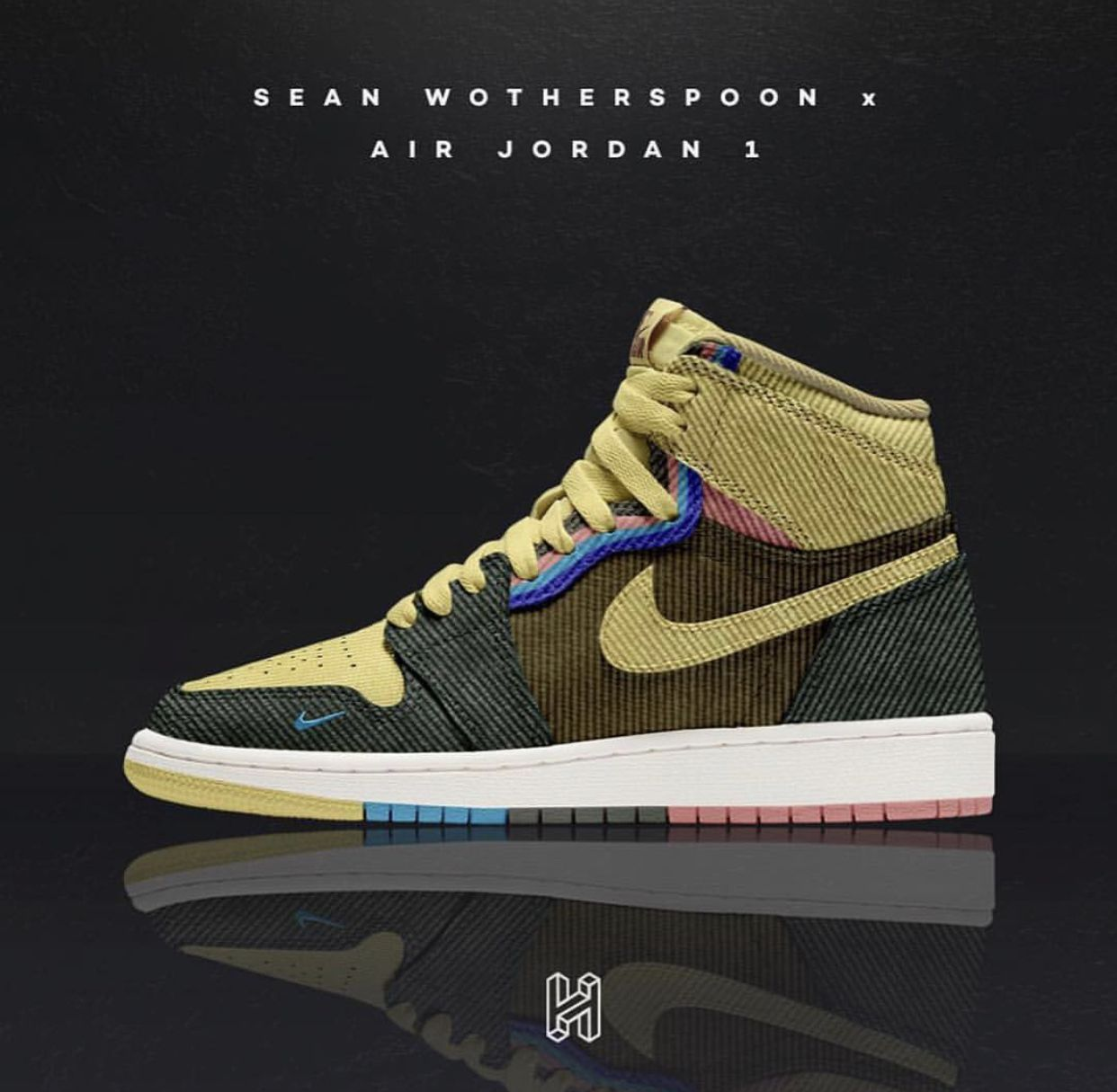92cceed90355e2 Jordan 1 x Sean Wotherspoon