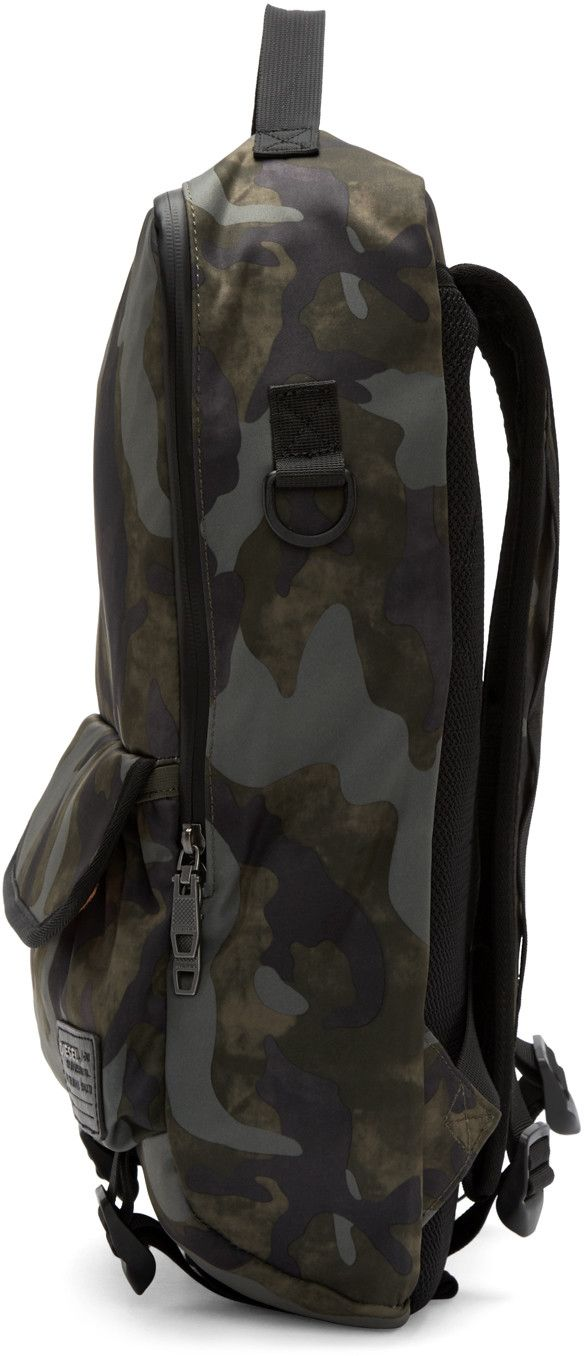 Diesel Green Camo F Close Backpack Green Camo Backpacks Camo