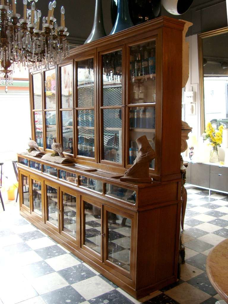$34,750 Two Rare 1900's Pharmacy Display Cases. | From a unique collection  of antique and - Pin By Mreza Bood On TheOffice In 2019 Pinterest Display Case
