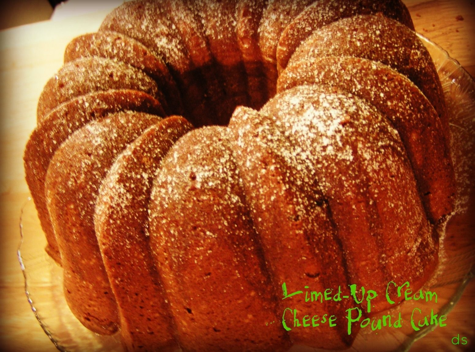 Limed Up Cream Cheese Pound Cake Dee Dee S Recipe Recipes