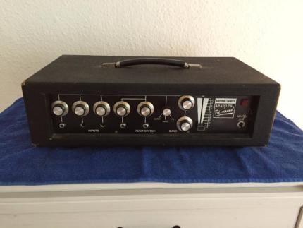 SIMMS-WATTS AP 100 TS Tri-Sound - Amp - Kellerfund - VINTAGE ! in