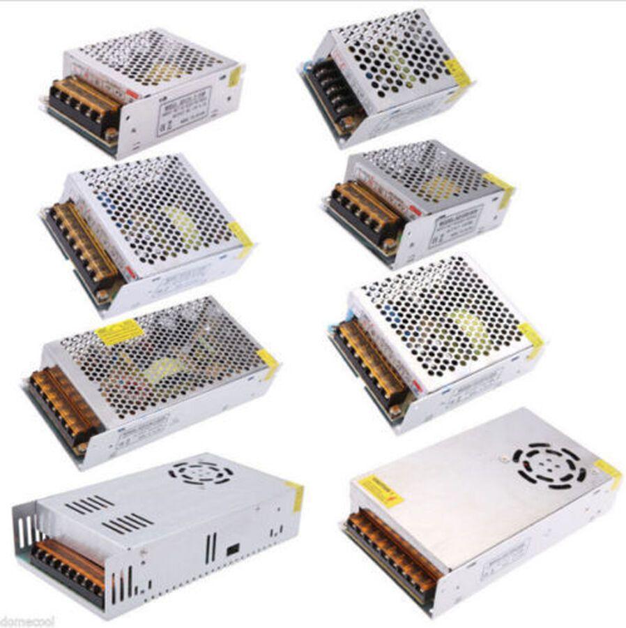 Ac 110v 220v To Dc 5v 12v 24v Switch Power Supply Driver Adapter Led Strip Light Led Strip Lighting Led Power Supply Led Strip