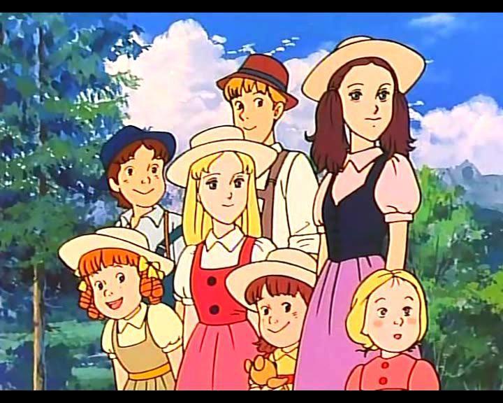 Cantiamo Insieme Sound Of Music Anime Movies Cool Cartoons Old Anime