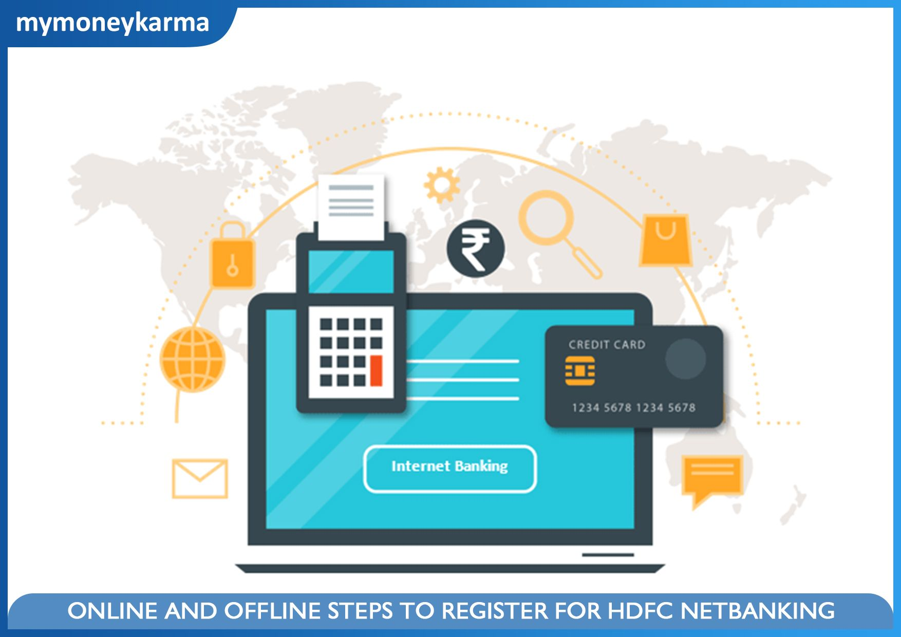 Are you looking to register for hdfc net banking learn