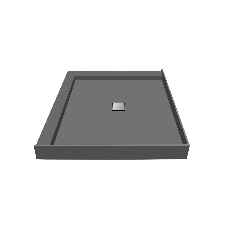 Tile Redi 34 D X 60 W Fully Integrated Center Pvc Wonder Drain