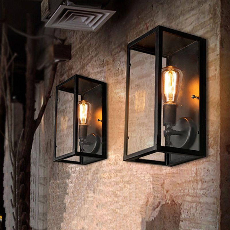 Outdoor Outside Wall Sconce Retro Wall Lamp Exterior Antique Wall Light Fixture Wall Sconces Bedroom Wall Sconces Living Room Indoor Wall Lights