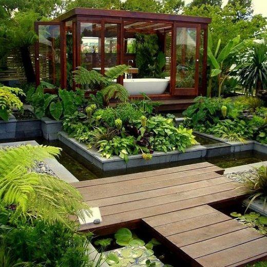 parques de casas modernos | jardines modernos pequeños | parques