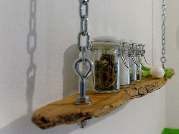 Treibholz Bastelideen haengeregal aus treibholz basteln und dekorieren bauen wollen