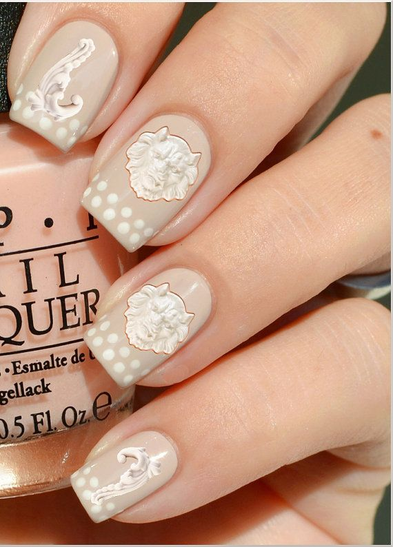 Nail Decals La Porcelain Water Nail Decals 30 by lavitaebella1986, $3.50
