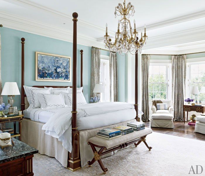 Mansion Master Bedroom: Allan Greenberg And Elissa Cullman Design A Federal-Style