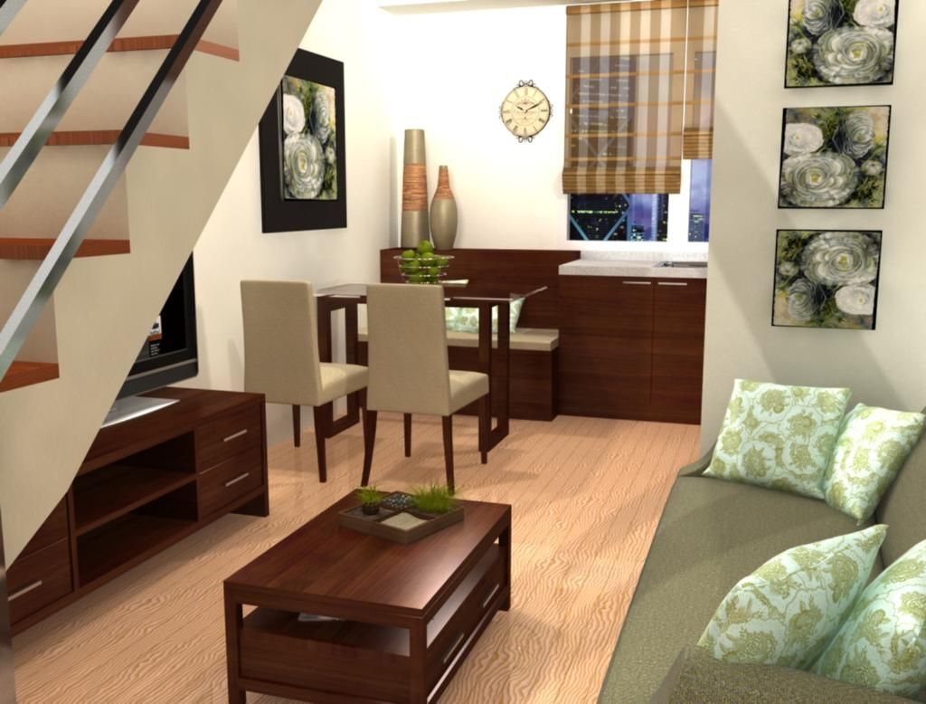 studio condo interior - Google Search | Small space ideas ...
