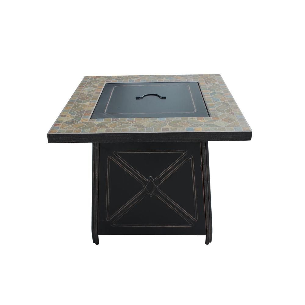 gas fire pit table patio heater
