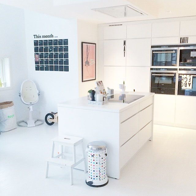 wohnkonfetti die sch nsten einrichtungsideen auf einen blick k che pinterest k che mit. Black Bedroom Furniture Sets. Home Design Ideas