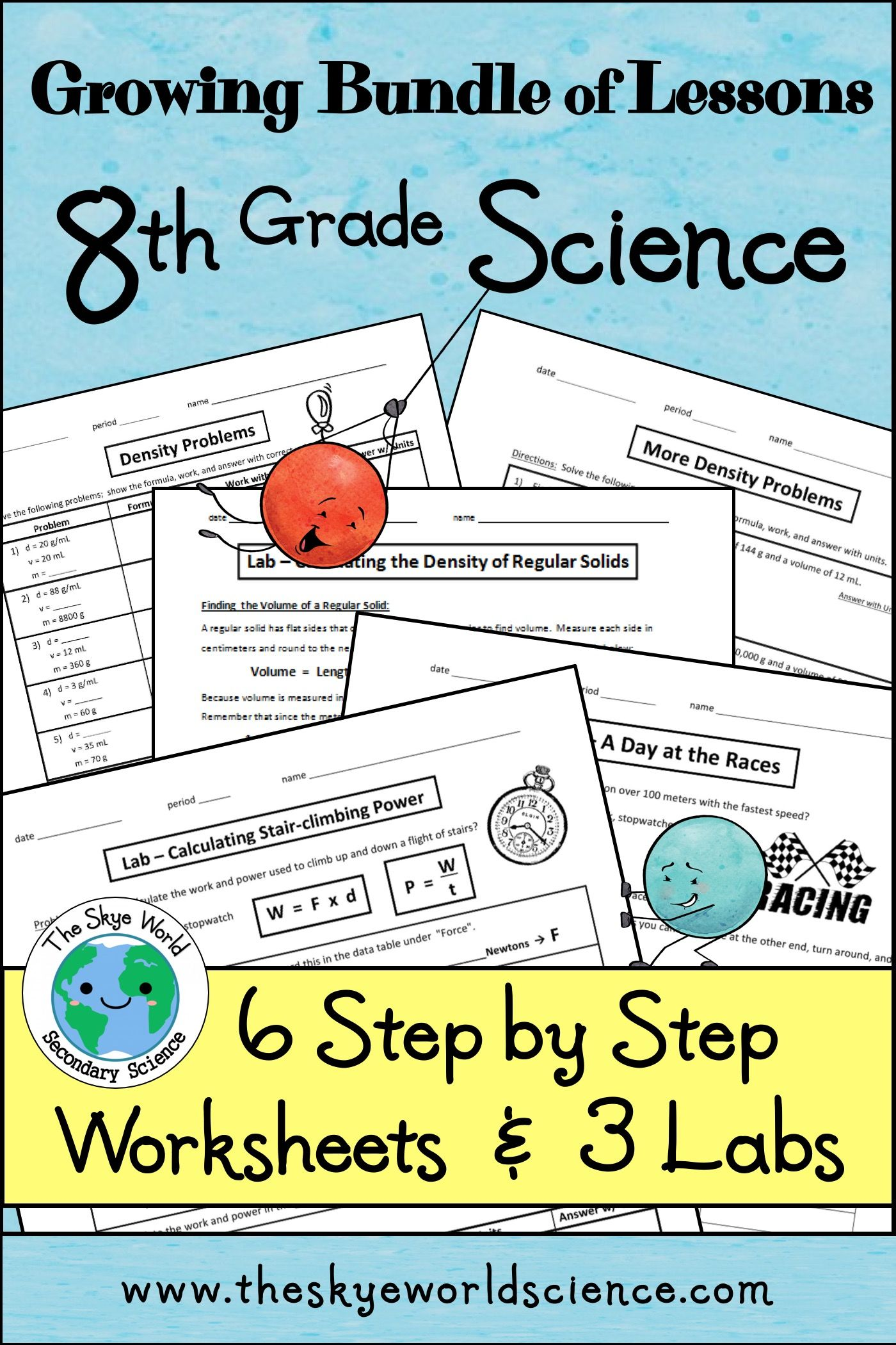 8th Grade Science Bundle