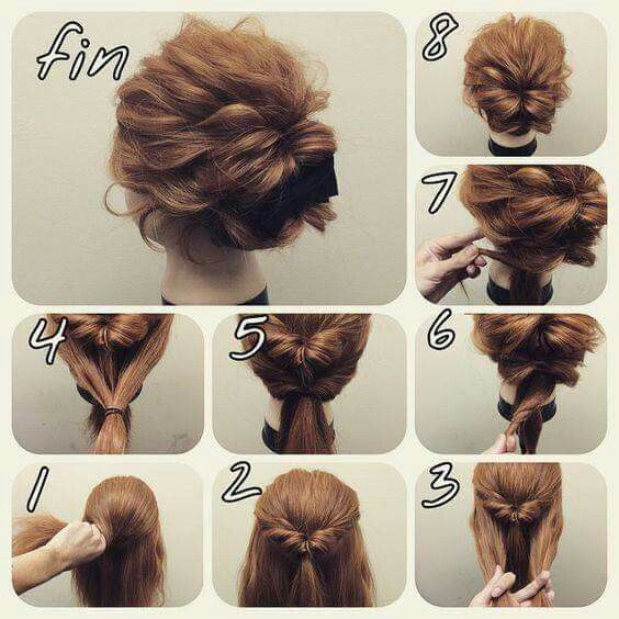 Hair Office Everyday Hair Updos Pinterest Peinados Sencillos