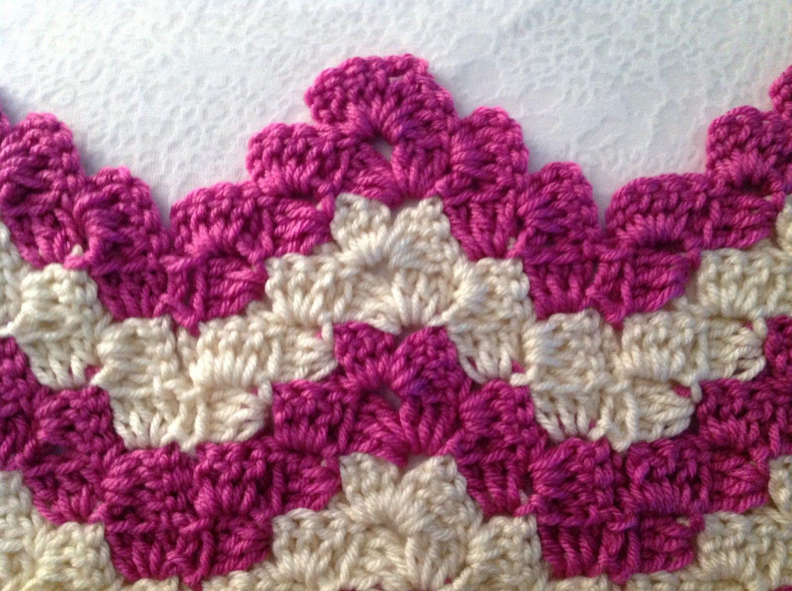 Learn A New Crochet Stitch: Vintage Rippling Blocks | Pinterest ...