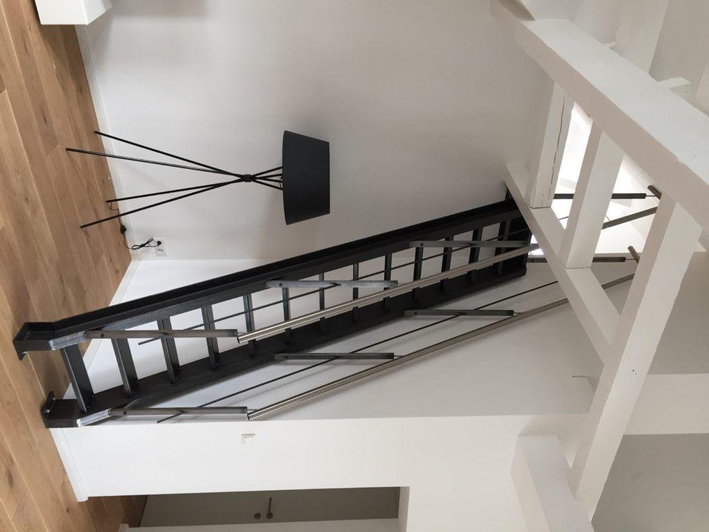 raumspartreppe aus schwarzstahl metallbau in 2019 raumspartreppen schwarzstahl und treppe. Black Bedroom Furniture Sets. Home Design Ideas