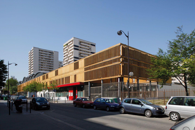 Jean-François Schmit Architectes · NURSERY SCHOOL AND MUNICIPAL WORKSHOPS · Divisare