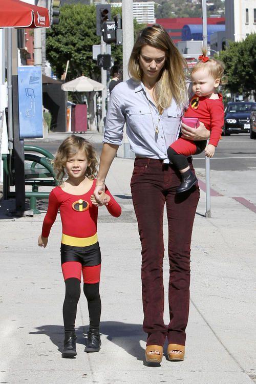 Jessica Alba's Sweet Superheros