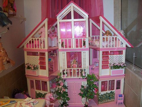 Vintage Barbie Dream House Pink Balcony Doors 1978 1979 1980 Barbie Dream House Barbie Dream Barbie Doll House
