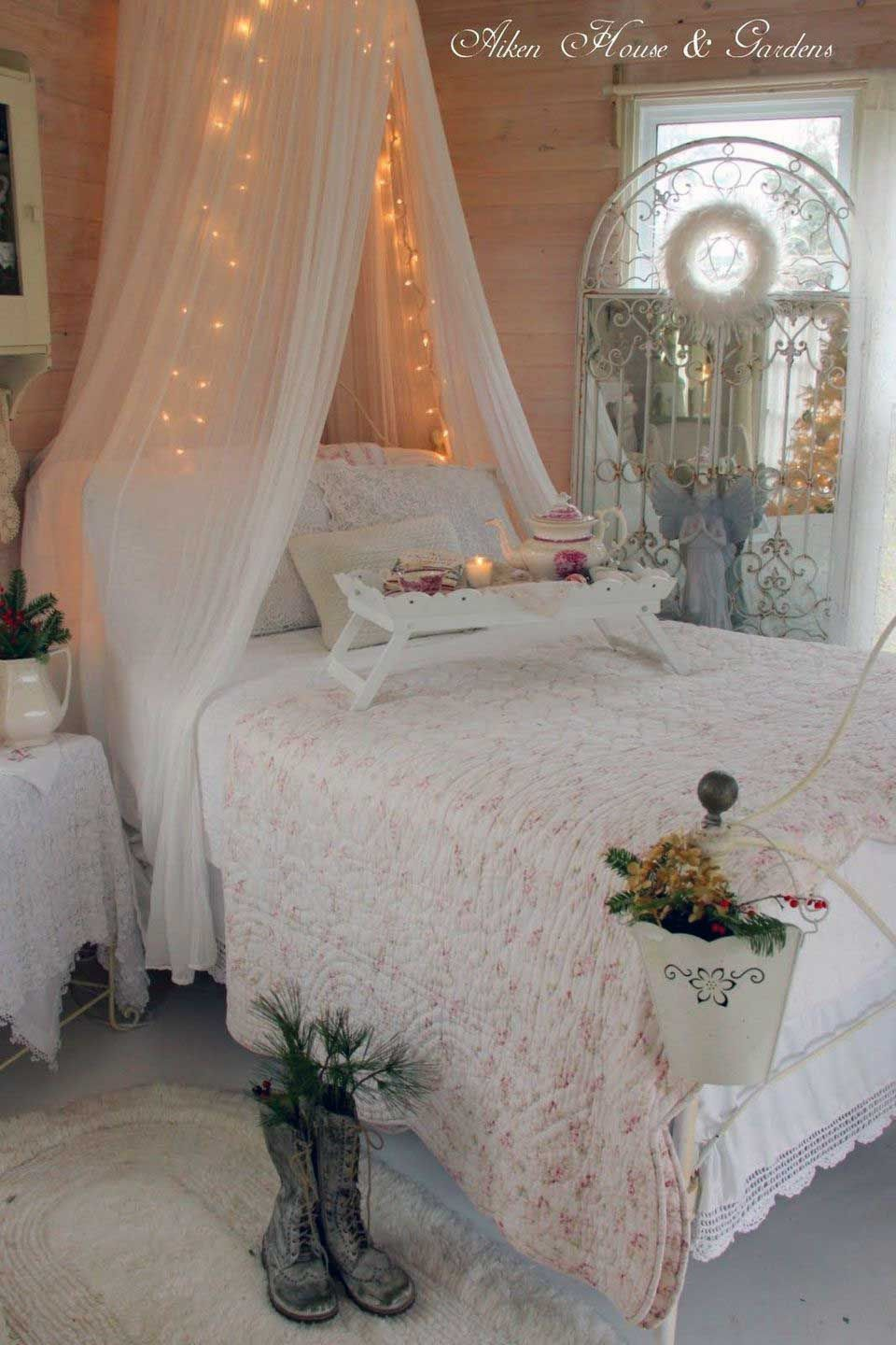 30 small spaces girly apartment bedroom ideas | modern