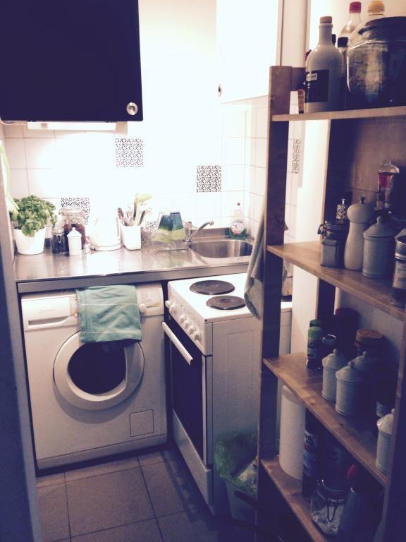 Gemütliche Küchennische in Münchner 1ZimmerWohnung in
