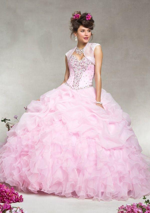 Grandiosos vestidos de Quinceanera | Coleccion Vizcaya 2014 | Xv ...
